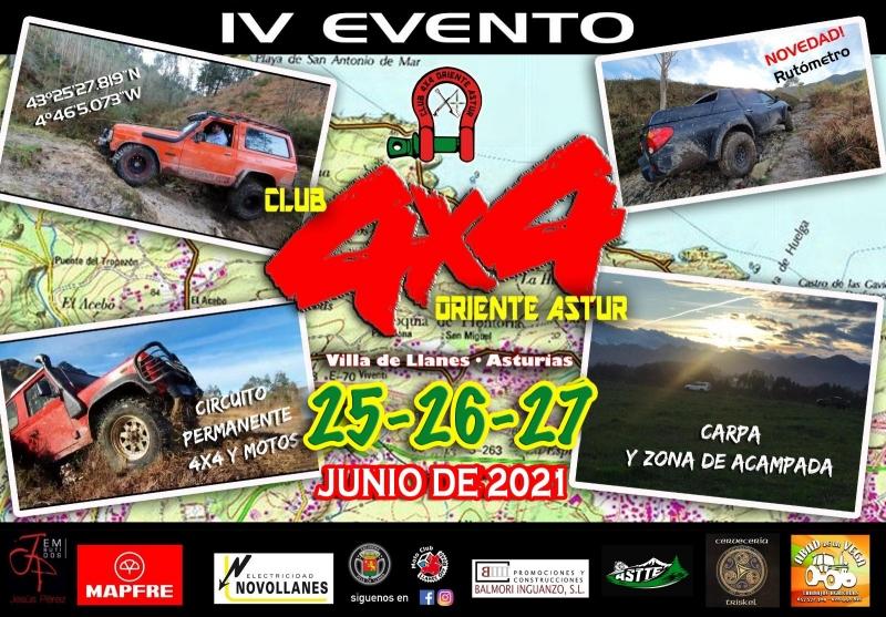 IV EVENTO CLUB 4X4 ORIENTE ASTUR - Inscríbete