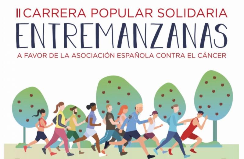CARRERA SOLIDARIA POPULAR  ENTREMANZANAS A FAVOR DE LA ASOCIACIÓN ESPAÑOLA CONTRA EL CÁNCER - Inscríbete