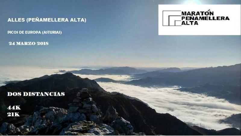II MARATON PEÑAMELLERA ALTA - Inscríbete
