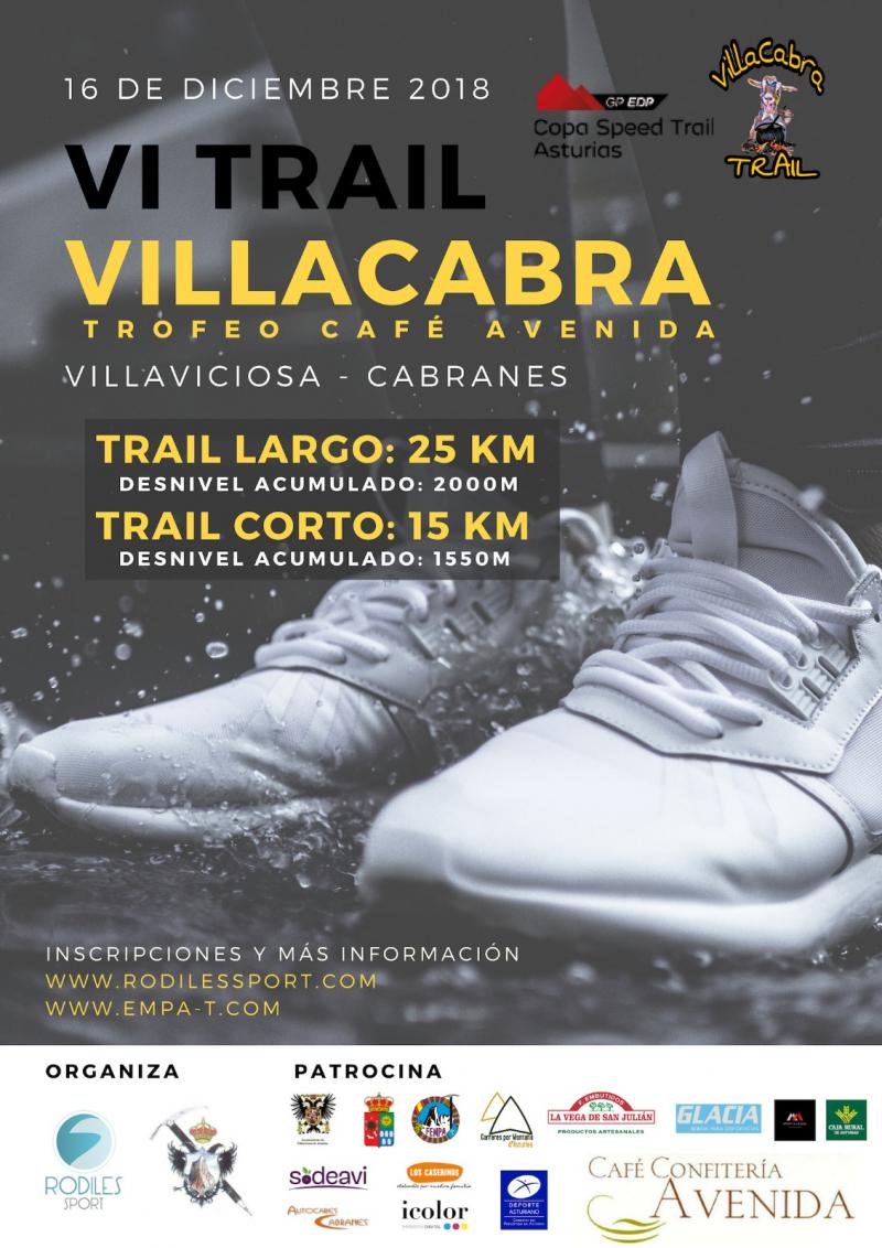 VI TRAIL VILLAVICIOSA-CABRANES - Inscríbete