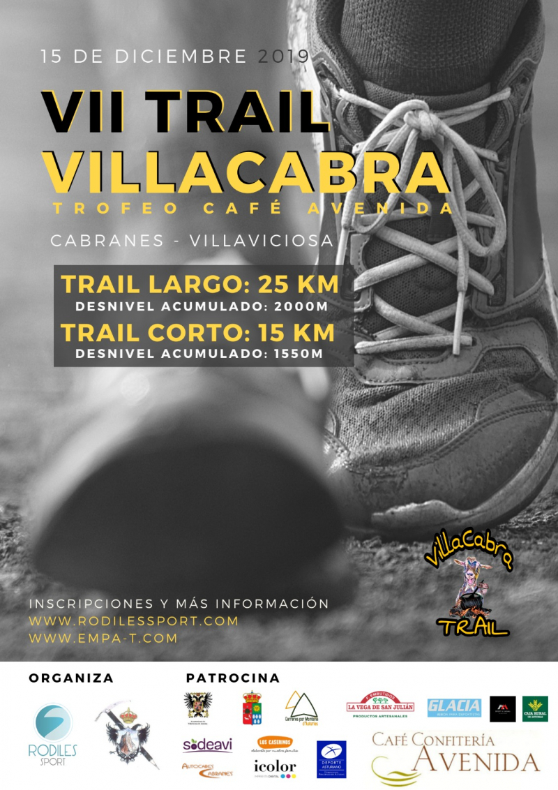 Resultados VII TRAIL VILLACABRA