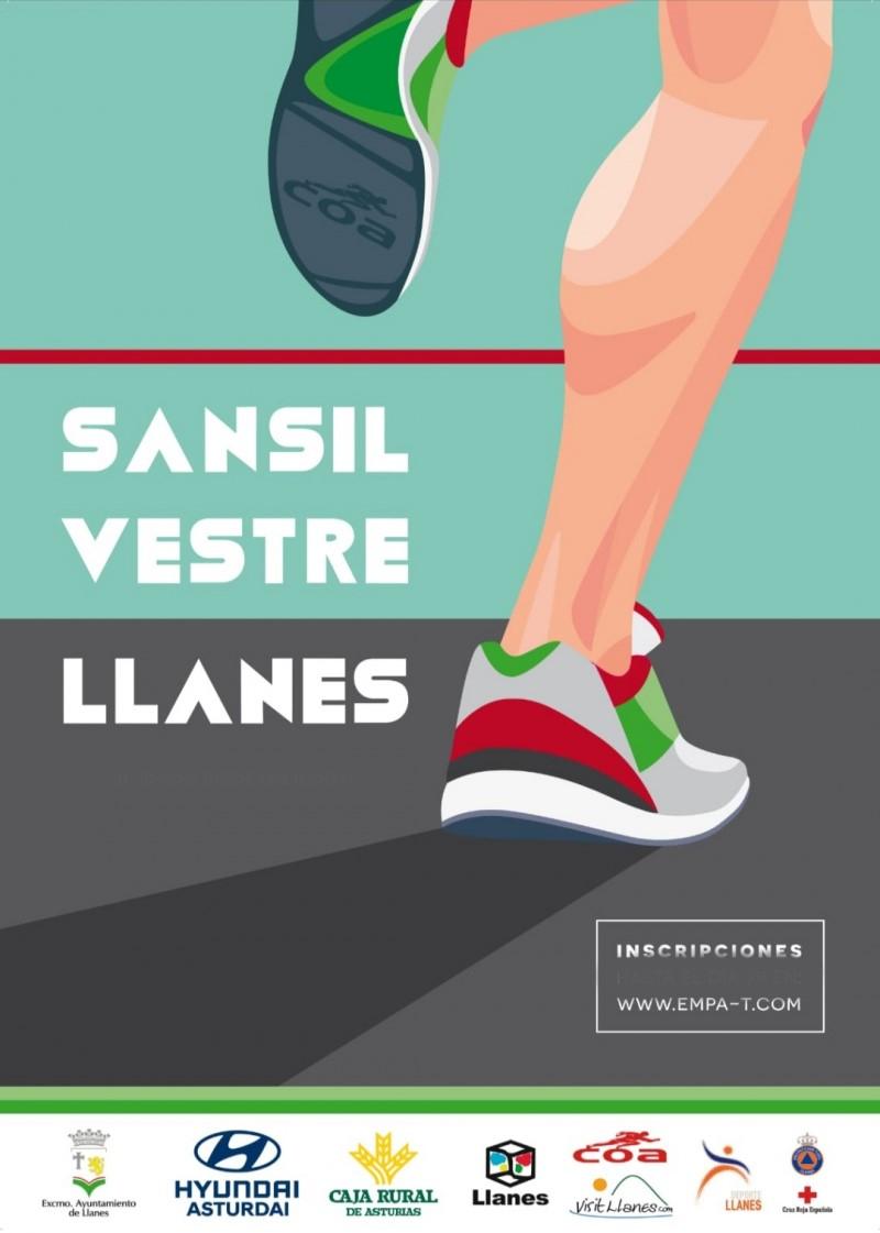 Cartel del evento SAN SILVESTRE LLANES 2019