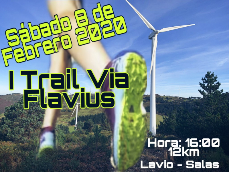 Cartel del evento I TRAIL VÍA FLAVIUS