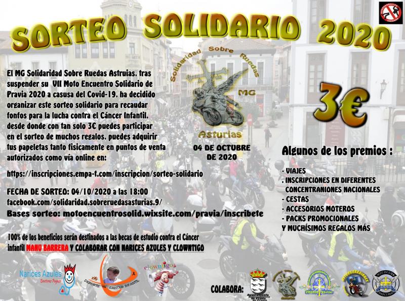 Cartel del evento SORTEO SOLIDARIO