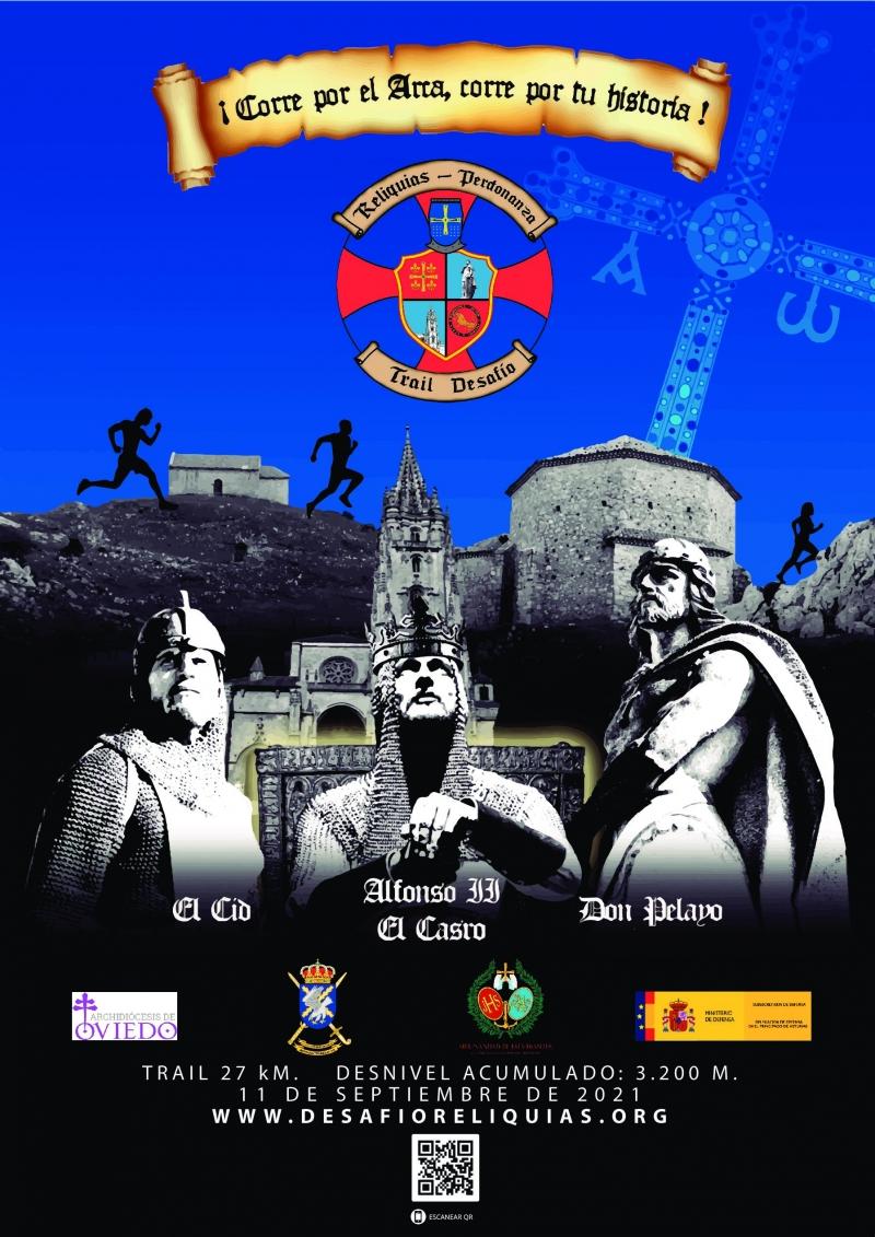 Cartel del evento DESAFÍO LAS RELIQUIAS