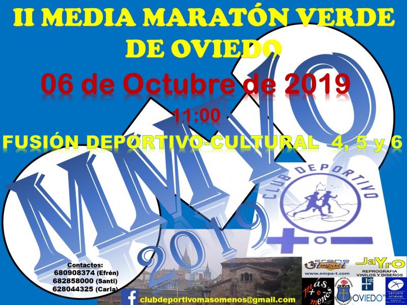 Resultados II MEDIA MARATON VERDE DE OVIEDO