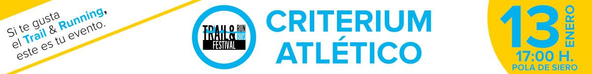 Inscripción - CRITERIUM ATLÉTICO (III TRAIL&RUN FESTIVAL)