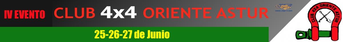 Inscripción limitada por DNI - IV EVENTO CLUB 4X4 ORIENTE ASTUR 2021