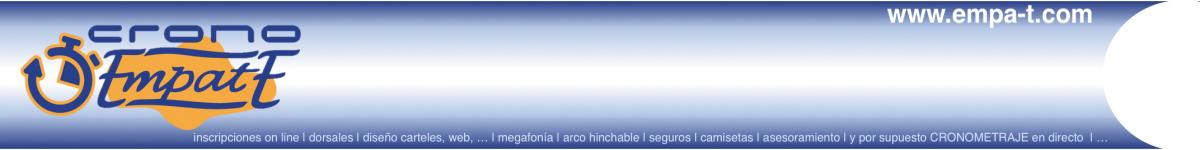 Inscripción - XII BTT    MEMORIAL IVÁN HERRERO